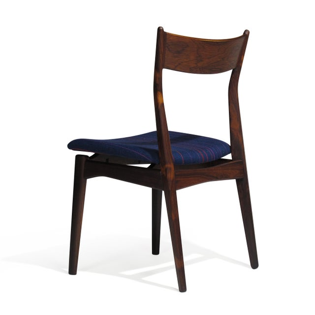 Mid 20th Century H. P. Hansen for Randers Danish Rosewood Dining Chairs - Set of 6 For Sale - Image 5 of 11
