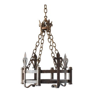 Small Neo Gothic Chandelier For Sale