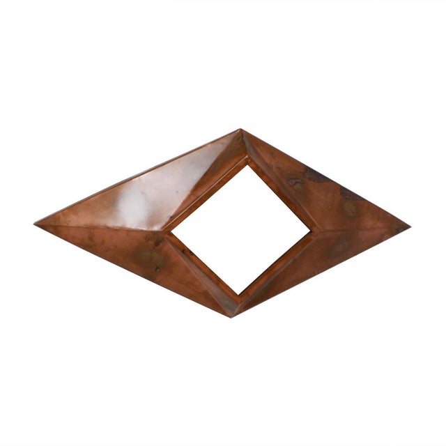 Custom Copper Diamond Mirror - Image 2 of 4
