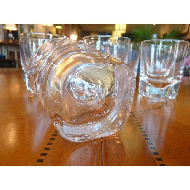 Heavy Glass Short Rocks Glasses - Set of 8 - Image 4 of 6