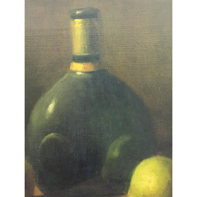 Classical Spanish Still Life Oil Painting on Canvas For Sale - Image 4 of 10