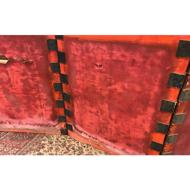 Antique Art Deco Asian Screen For Sale - Image 11 of 11