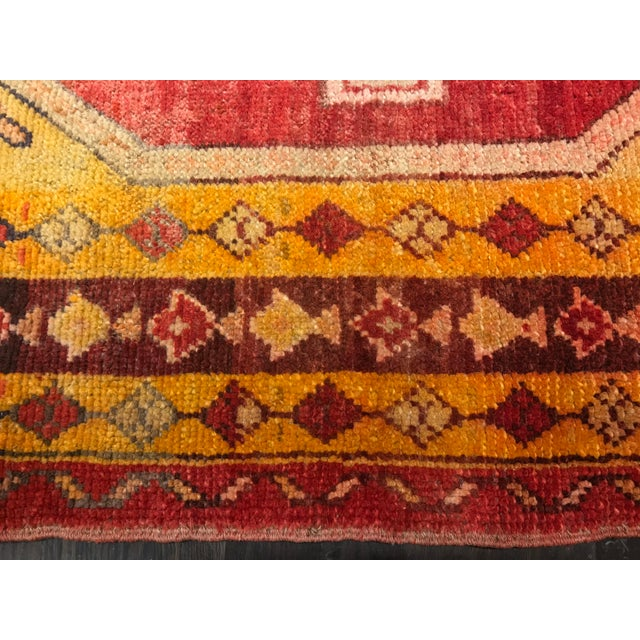 "Bellwether Rugs Vintage Turkish Oushak Area Rug - 3'8"" X 5'4"" - Image 5 of 11"
