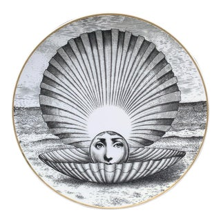 Piero Fornasetti Rosenthal Plate, Motiv 14, 1980s For Sale