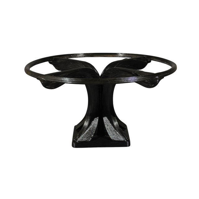 Extraordinary Trompe L'oiel Dining or Centre Table by Betty Cobonpue, circa 1980 For Sale