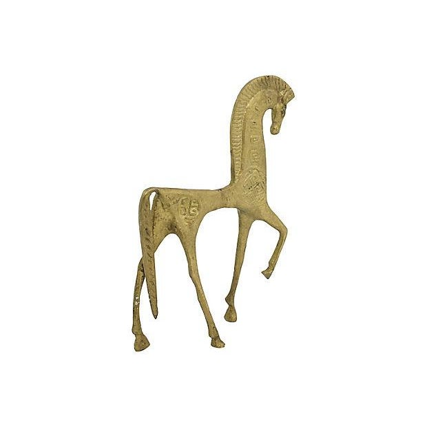Mid Mod Etruscan Horse Figure - Image 4 of 4