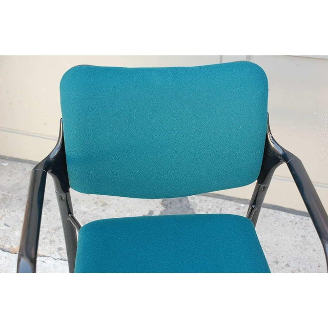 Mid 20th Century Set of 4 Modern Dining Chairs by Mark Goetz for Herman Miller For Sale - Image 5 of 6