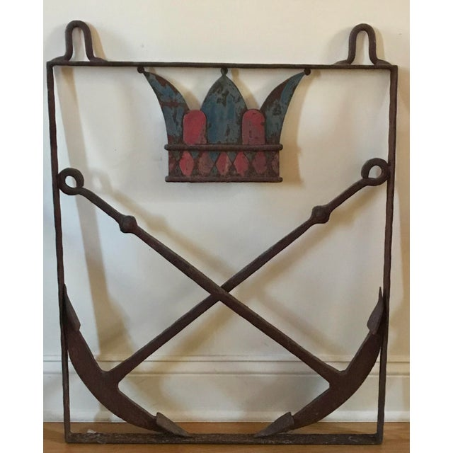19th Century Nautical Trade Sign For Sale - Image 4 of 4