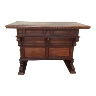 Antique Tuscan Walnut Table
