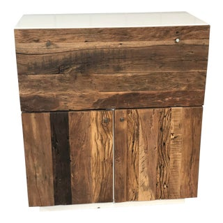 Rustic Resource Decor Dry Bar For Sale