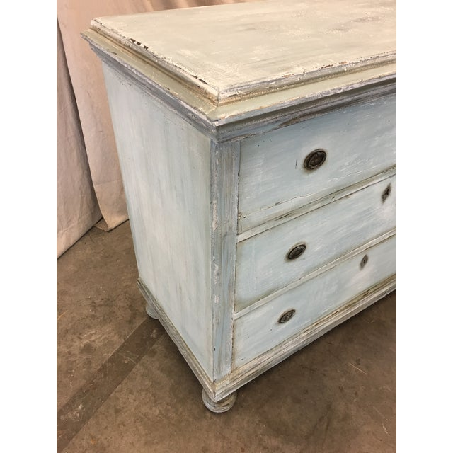18th C French Painted Commode Dresser For Sale - Image 9 of 13