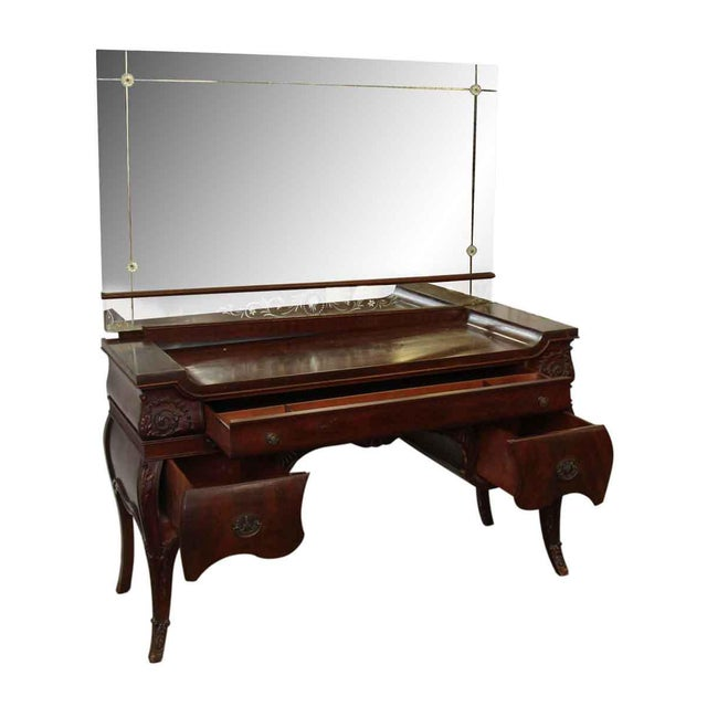 Vanity With Mirror - Image 9 of 10