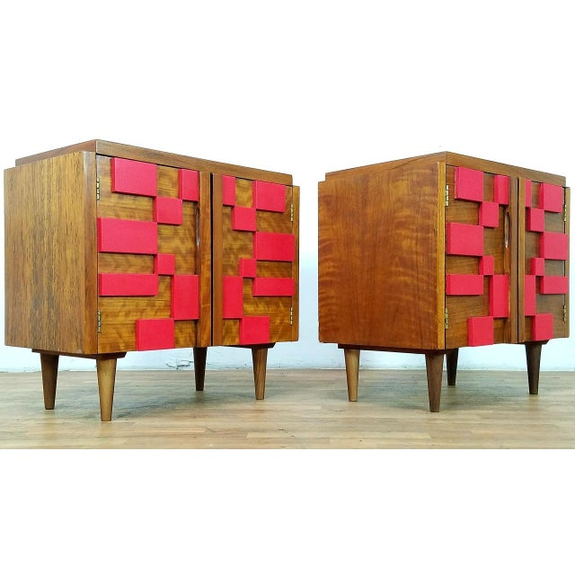 1960s Mid Century Modern Lane End Tables - a Pair For Sale - Image 13 of 13