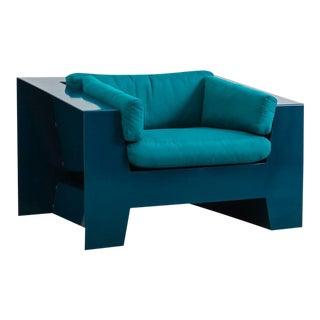 Chris Rucker, Indoor/Outdoor Powder-Coated Steel Low Club Chair, USA, 2017