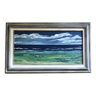 """""""Song of the Ocean"""" Original Acrylic Seascape Painting by Nancy Smith For Sale"""