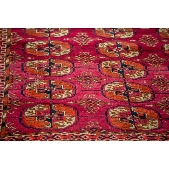 """Vintage Turkmen Square Rug - 3'4"""" X 3'4"""" - Image 4 of 8"""