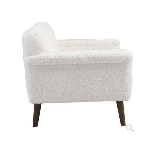 Kenneth Ludwig Chicago Kenneth Ludwig Rafaelle Fleece Chair For Sale - Image 4 of 6