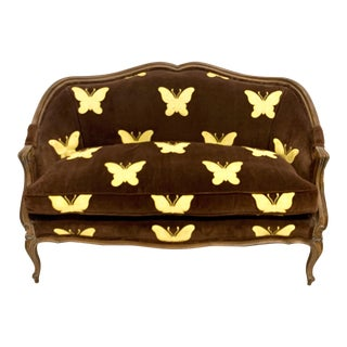 Meyer Gunther Martini French Style Settee For Sale