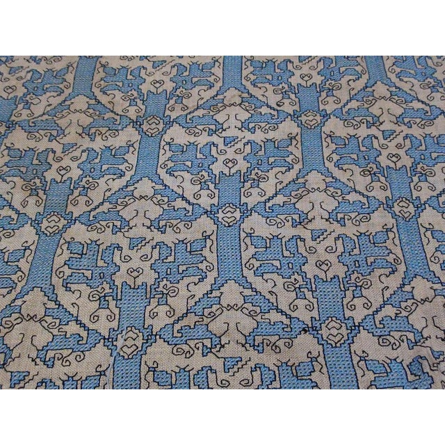 Italian Needlepoint Rug- 5′10″ × 8′8″ For Sale - Image 4 of 5
