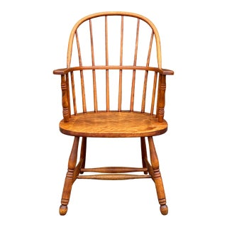 Heywood Wakefield Sack Back Windsor Chair For Sale