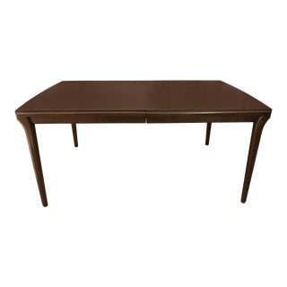 John Widdicomb Mahogany Extension Dining Table