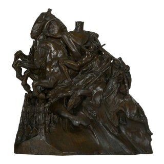 """The Four Horsemen of the Apocalypse"" Bronze Sculpture by Lee Oscar Lawrie (German/American, 1877-1963) For Sale"
