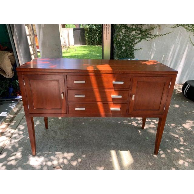 Brown Stickley Metropolitan Sideboard For Sale - Image 8 of 8