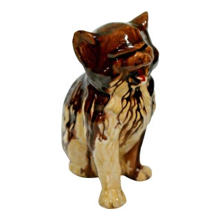1920s Early Drip Glaze Cliftwood Pottery Figurine For Sale