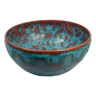 Relicware Ceramic Bowl #87 by Andrew Wilder For Sale