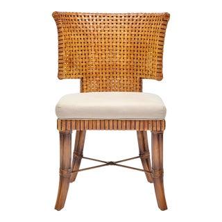 Sidney Chair, Chestnut, Rattan For Sale
