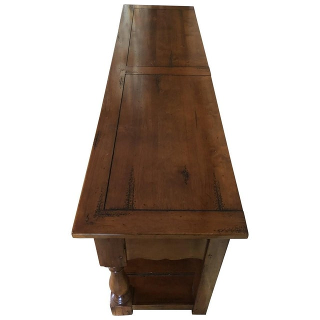 French Provincial French Provincial Style Sideboard Buffet For Sale - Image 3 of 6