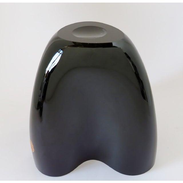 Purple Per Lütken Purple Glass Vase For Sale - Image 8 of 10