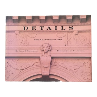 "1991 ""Details: The Architects Art"" First Edition Art/Photography Book For Sale"