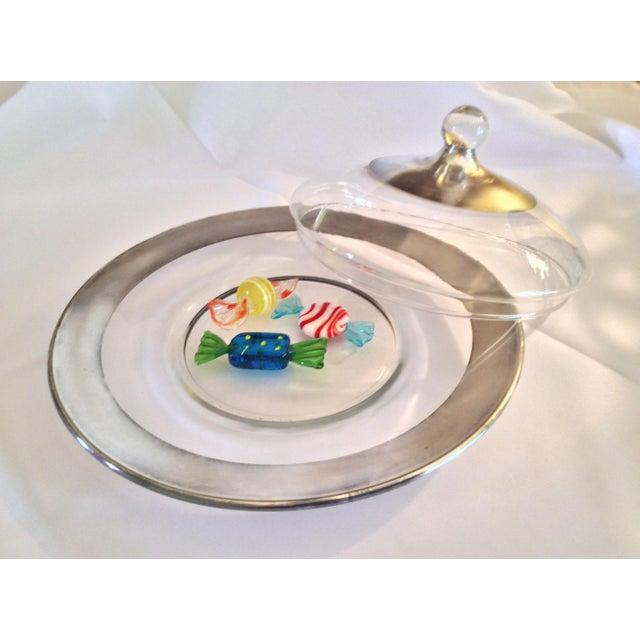 Dorothy Thorpe Dorothy Thorpe Mid Century Candy Dish For Sale - Image 4 of 13