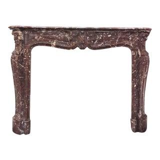 Louis XVI Marble Mantel For Sale