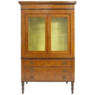 Rho Mobili D' Epoca Neoclassical Style Vitrine on Chest, Italy For Sale