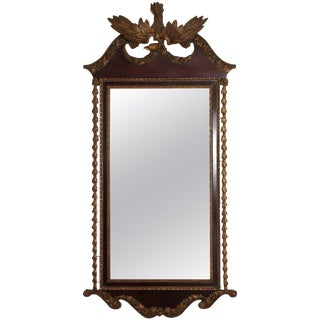 Large 19th Century American Empire Mirror For Sale