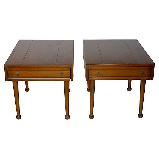 American of Martinsville Mid-Century End Tables - Pair - Image 1 of 7