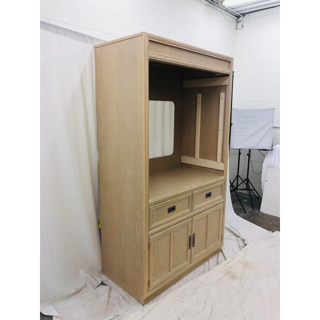 Stanley Furniture Vintage Hutch By For Sale - Image 4 of 5