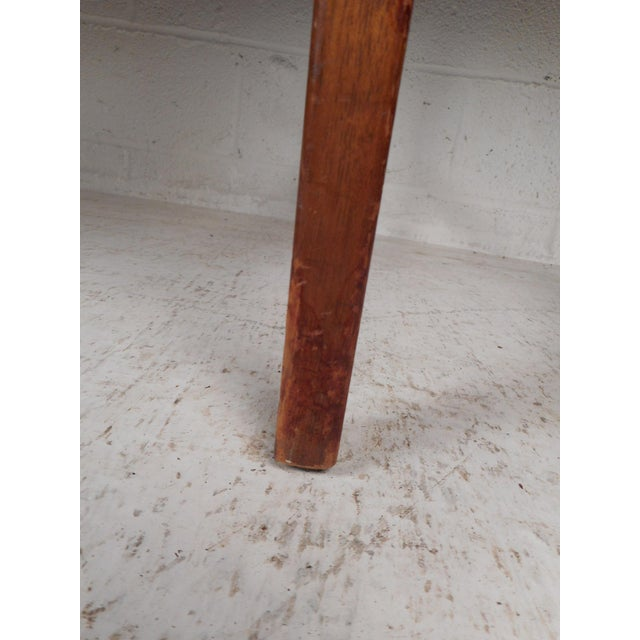 Mid-Century Modern Desk With Side Extension For Sale - Image 11 of 12
