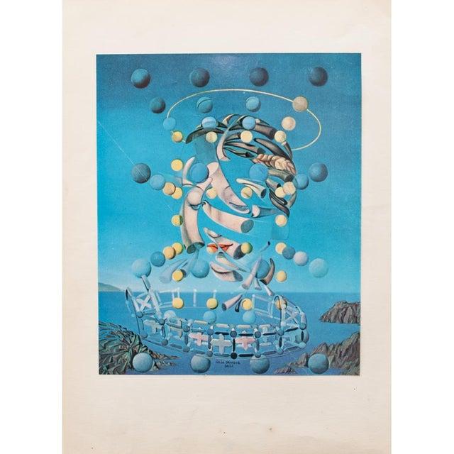 "1957 Salvador Dalí ""Assumpta Corpuscularia Lapislazulin"" Vintage Lithograph Print For Sale In Dallas - Image 6 of 9"