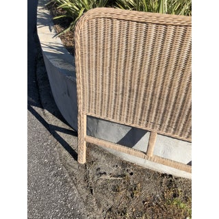 Vintage Rattan King Headboard Preview