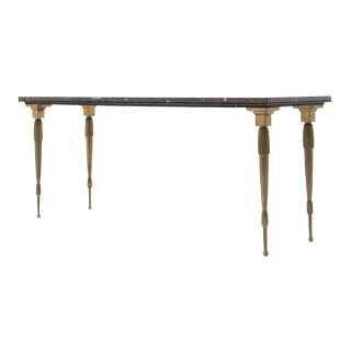 1940s Very Unusual Maison Bagues Console Table For Sale