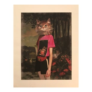 Gallery Wall Pop Art Gucci Cat Woman & Self Portrait Shirt Print