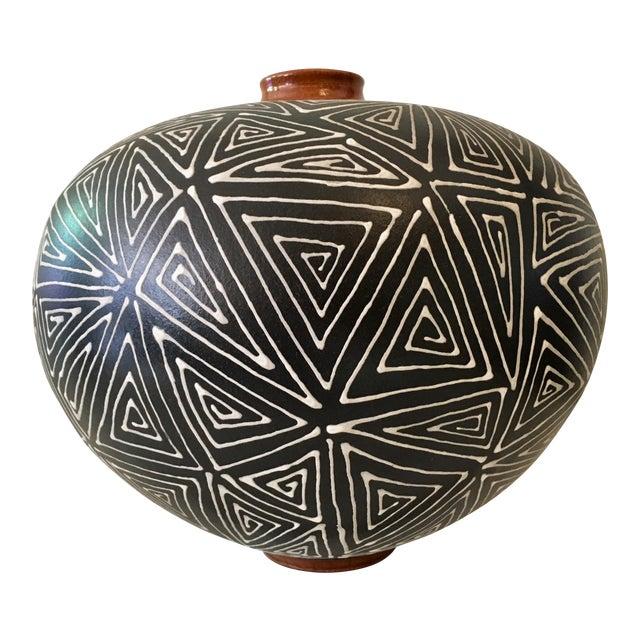 Mid-Century Studio Pottery Vase - Image 1 of 6