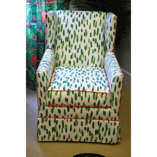 Custom Upholstered Braeton Swivel Club Chair - Image 2 of 6