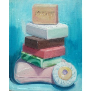 Soaps (Stacked) Print by Paula McCarty For Sale