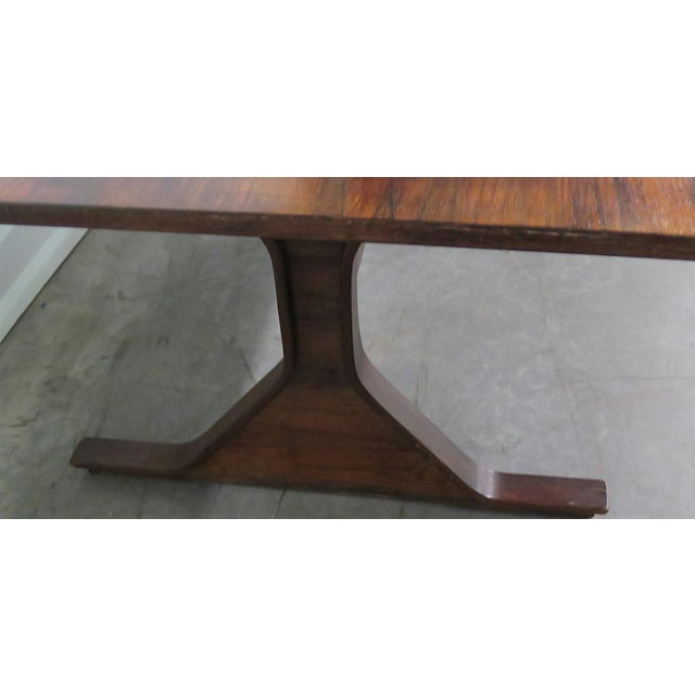 Frattini Italian Rosewood Dining Table - Image 6 of 9