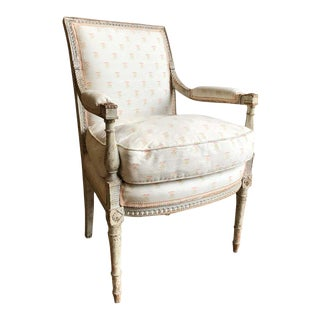 18th Century French Armchair by Jacob Frères For Sale