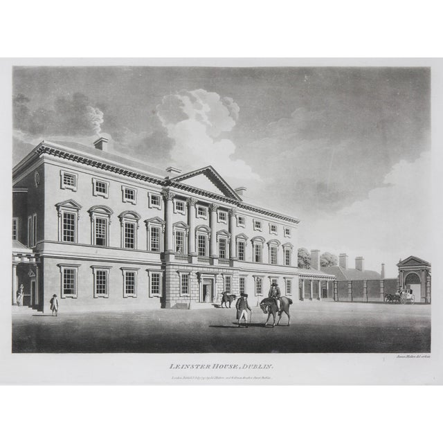 Traditional Engraved Views of Dublin Ireland by James Malton - Set of 25 For Sale - Image 3 of 13
